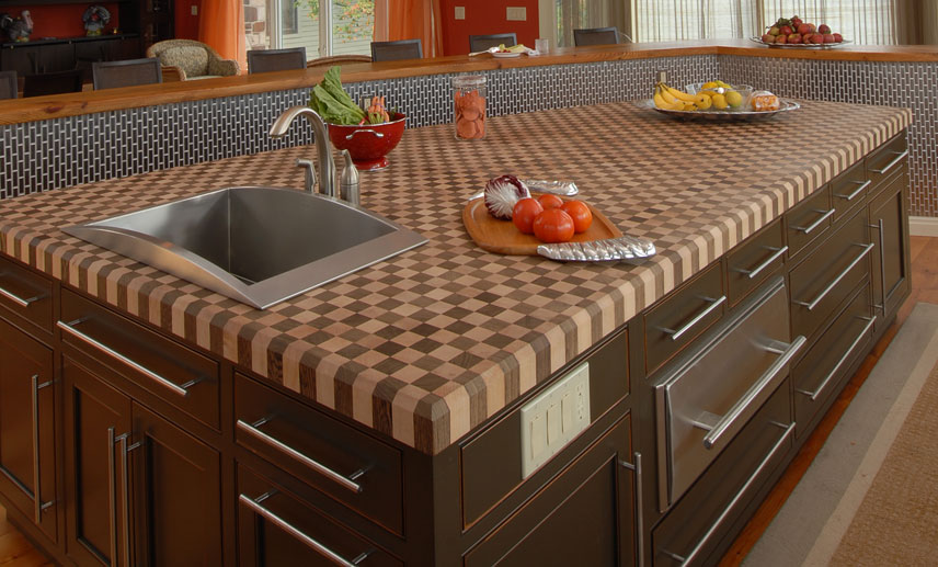 There Is Nothing Quite As Beautiful As Having An All Natural, Wooden Countertop  In Your Home. We Offer A Variety Of Wood Types ...